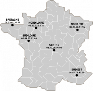 carte-france POLE COMMERCIAUX