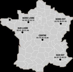 carte-france POLE COMMERCIAUX